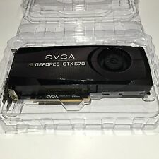 EVGA GeForce GTX670 FTW 2GB 2048MB GDDR5 256bit Video Graphics Card