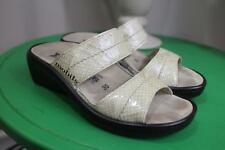 Women's Mobils By Mephisto ULARIA Comfort Slide Sandals size 35 (sand100