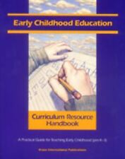 Early Childhood Education: A Developmental Curriculum