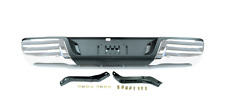 Rear Bumper Chrome With Brackets For Ford Ranger Pickup 2.2TD / 3.2TD 2012 On