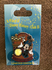 DISNEYLAND CLUB 33 - A PIECE OF DISNEY HISTORY Pin - New