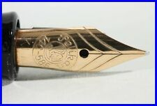PELIKAN fountain pen with KEF GOLD NIB torpedo shaped 140 rare BALL EXTRA FINE