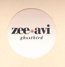 ZEE AVI STICKER Official Promo 2011 GHOSTBIRD NEW MINT Original RARE CHEAP!