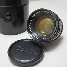 Canon TV-16 25mm 0.78 Super 16 Ultra Speed Manual Focus C Mount Camera Lens