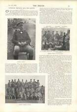 1901 General French And His Scouts Count D'orsay And Lady Blessington