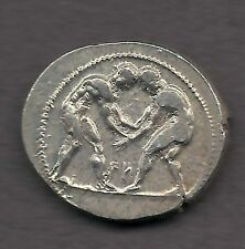 370 B.C. Ancient Greek Silver Olympic Stater Coin in Presentation Box