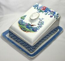 Vintage,Antique S.Hancock&Sons Chantilly Cheese Keeper Lidded Dish,Staffordshire