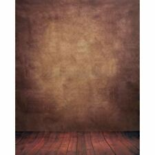 5X7FT Abstract Brown Studio Vinyl Cloth Photography Backdrops Photo Background
