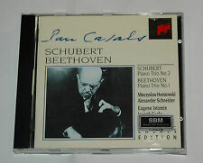CD/SCHUBERT/BEETHOVEN/PAUL CASALS/HORSZOWSKI/PIANO TRIO 2+1/Sony SMK 58988