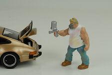 Mechaniker Musclemen Van Go Figur Lackierer 1:24 Figures American Diorama