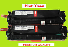 2PK Black (High Yield) Toner Cartridge for Canon 131X, Canon131A  MF8280CW