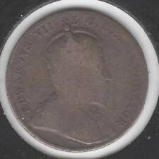 1909, Broad Leaves, GOOD Canadian Ten Cents #1