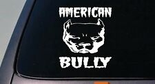"AMERICAN BULLY American *B152* pit bull pitbull 6""sticker decal  rescue AMSTAFF"