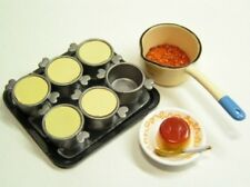 Re-ment miniature Let's cooking #5-Making dessert pudding set NEW