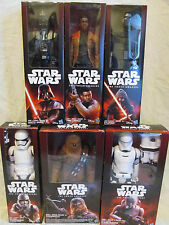"Star Wars The Force Awakens HASBRO DISNEY FIGURINES 6 DOLLS 12"" NIB SEALED"