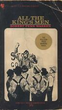 ALL THE KING'S MEN , by Robert Penn Warren - 1966