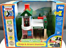 Learning Curve Wooden Thomas and Friends Talking Railway Series Stop & Go Signal
