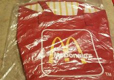 Vintage McDonald's French Fry Canvas & Vinyl Lined Tote Bag Retro 1980's