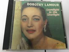Dorothy Lamour Lovelight In The Starlight 2000 CD  604988011722