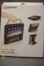 Griffin Standle Black Super-Versatile Stand Carry Case for iPad GB01685