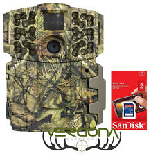 New Moultrie M-999i 20 MP Invisible IR No Glow Game Trail Camera W/ 8GB SD Card