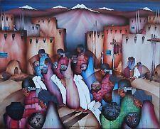 """Amado Pena Mini Prints """"DANZA DE LOS ARTESANOS"""" 1985 (7540) SIGNED 8x10"""