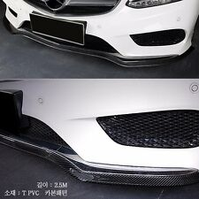 Carbon Front Bumper Body Skirt Protector Sticker For Mazda 3 Axela 2014~2016