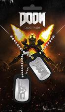 Doom UAC etiquetas de perro | mercancía juego oficial [nuevo]