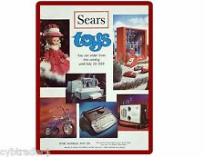 1969 Sears Toy Catalog  Refrigerator / Tool Box  Magnet
