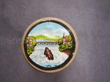R112 Mercerie vintage ancienne bobine bois fil coton main METTLER  riviere pont