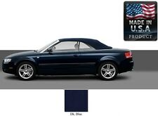 Audi A4 Convertible Soft Top With Heated Glass window in Blue Stayfast Cloth