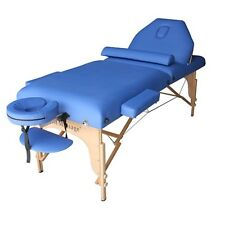"Blue 77"" L 30"" W 3"" Pad Reiki Portable Massage Table"