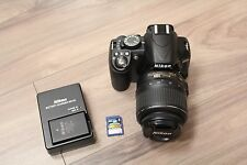 Nikon D3100 14.2MP Digital SLR Camera + 18-55mm f/3.5-5.6 + 16GB SD Card