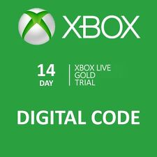 Xbox One 360 Live Gold Code Membership Trial 14 Days / 2 Weeks Instant Dispatch