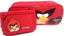 Rovio Angry Birds Pencil Pouch /Pencil Case (Red) and Wallet Combo-Brand New!