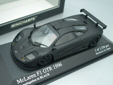 1/43 Minichamps McLAREN F1 GTR SHORT TAIL 1996 - HOMOLOGATION IN BLACK