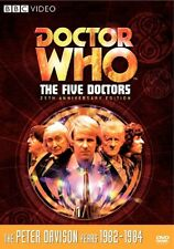 Doctor Who - The Five Doctors (DVD, 2008, 2-Disc Set) 25th Anniversary NEW