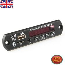 Car LED Bluetooth MP3 WMA Decoder Board Audio Module 12V USB TF FM Radio