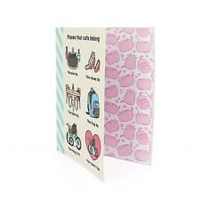 PUSHEEN RING BINDER FILE FOLDER SCHOOL RETRO COMIC CARTOON CAT KITTEN OFFICIAL