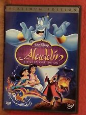 Aladdin Authentic Disney (DVD 2004 2-Disc Set) Platinum Edition Like New
