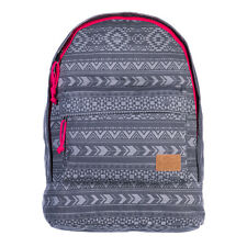 Animal Women's Burst Canvas Backpack Bag - AW15: Asphalt Grey