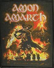 """AMON AMARTH PATCH / AUFNÄHER # 12 """"SURTUR RISING"""""""