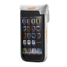 "Ibera Waterproof 4"" Smartphone Case With Q4 Adjustable Stem Mount White"