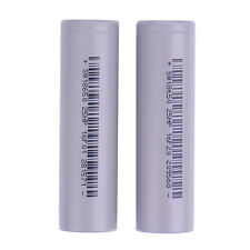 2PCS Genuine 2500mAh Rechargeable Li-ion Battery 3.7V 18650 Batteries For Torch