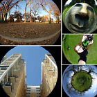 Hot 3 In 1 Clip Camera Lens Fish Eye Wide Angle Macro Kit For Smart Phone XP