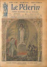 Immaculée Conception Adan et Eve Hôtel-Dieu de Anthoine Sublet 1920 ILLUSTRATION