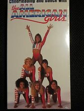 Cheerleading and Dance With the All American Girls (VHS) New Rare Competition