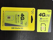 H2O SIM Card (ALL SIZE FIT) AT&T network prepaid