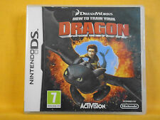 ds *HOW TO TRAIN YOUR DRAGON* Game 7+ Dreamworks Adventure Game Nintendo PAL