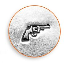 Pistol Design Stamp For Making Hand Stamped Jewelry   Free Shipping